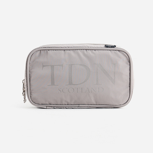 KENNETH TDN round zipper pouch M