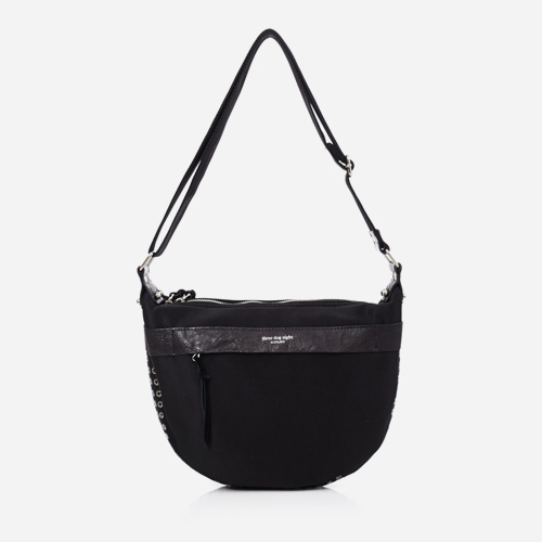 GIRIC GLAMPING HALF MOON SHOULDER BAG