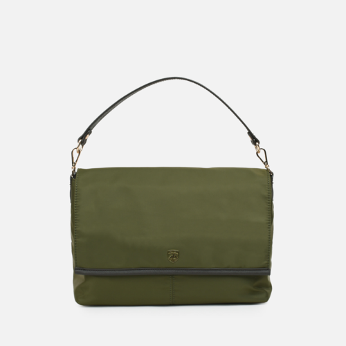 STEWART Square flap 2way shoulder Bag