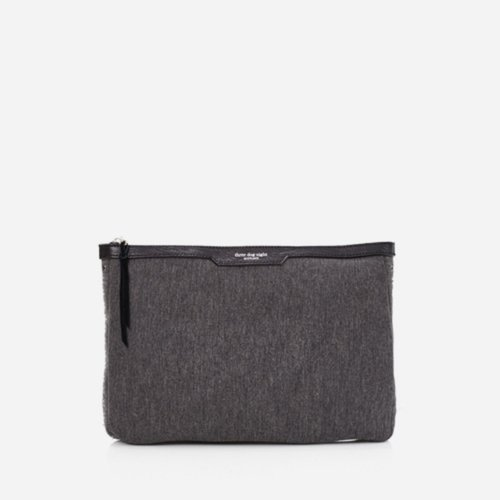 GIRIC Eyelet clutch bag