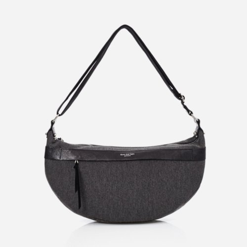 GIRIC Eyelet round shoulder bag